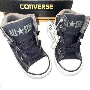 Converse CT High Street Black Slip on Sneakers